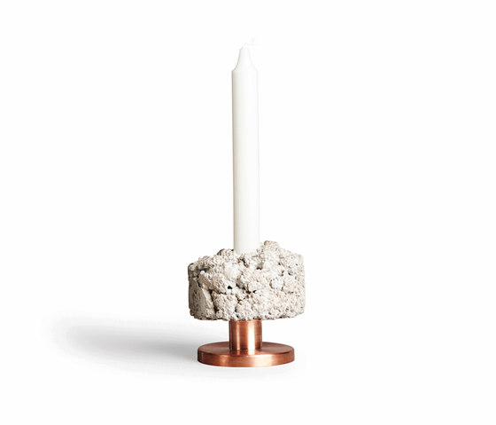 Crowd Candle Holder Rough Billy by NEW WORKS | Candlesticks / Candleholder
