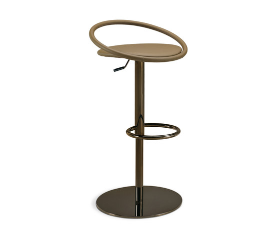 Fizzy | height-adjustable stool di Frag | Sgabelli bar