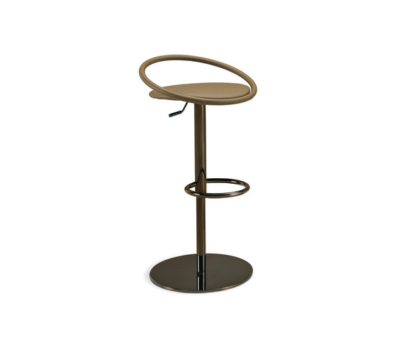 Fizzy height-adjustable stool by Frag | Bar stools
