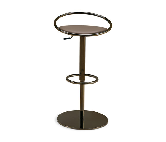 Fizzy | height-adjustable stool by Frag | Bar stools