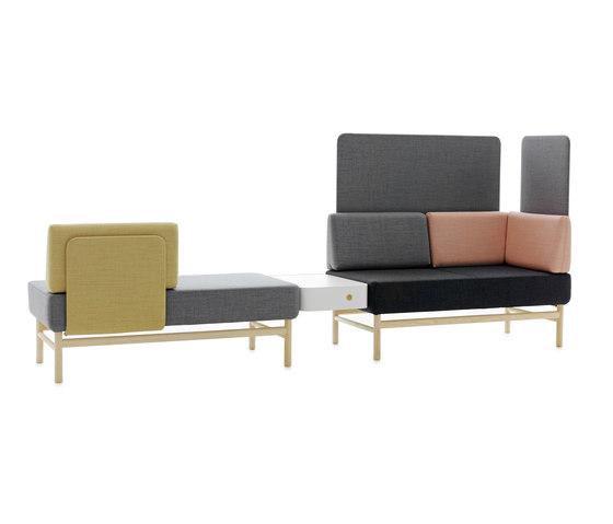 Pop Sofa de Gärsnäs | Asientos modulares