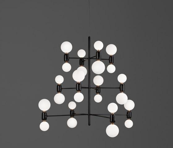 Aballs chandelier 12 di PARACHILNA | Lampadari