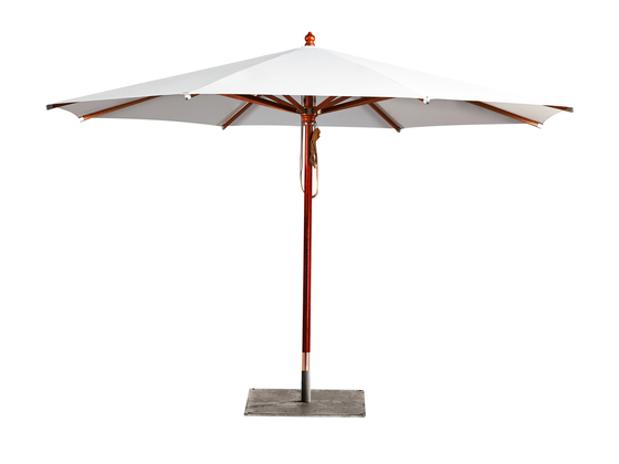 Type H Wooden umbrella by MDT-tex | Parasols