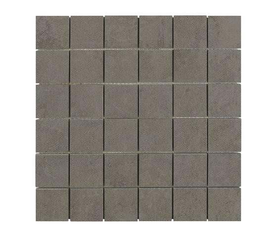 Evo Mosaico graphite by APE Grupo | Ceramic mosaics