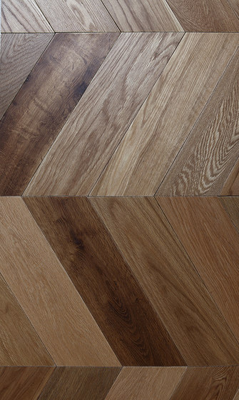 Pure Kyoto | Hungarian Point / Chevron by Imondi | Wood panels