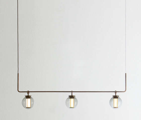 Bai chandelier III by PARACHILNA | Suspended lights
