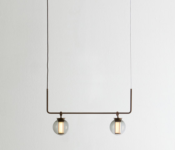 Bai chandelier II by PARACHILNA | Suspended lights