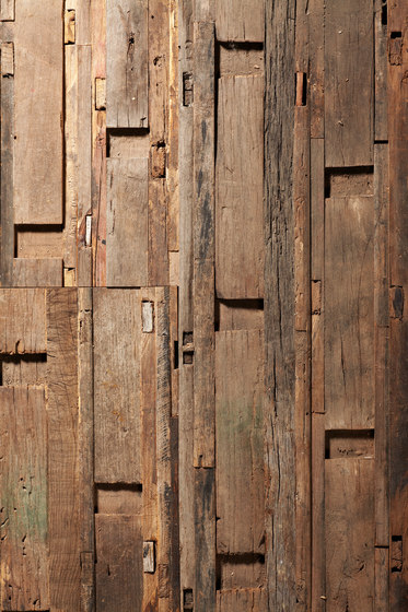 Uniquely Rio | Salvage Wall Cladding, ZOWIE! by Imondi | Wood panels