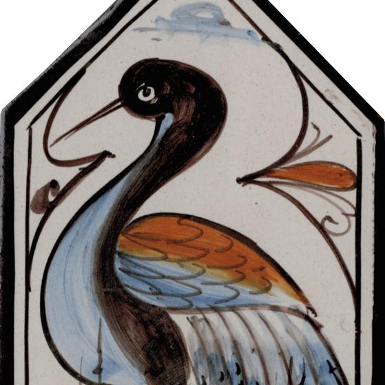 LR Losanga uccello de La Riggiola | Carrelage céramique
