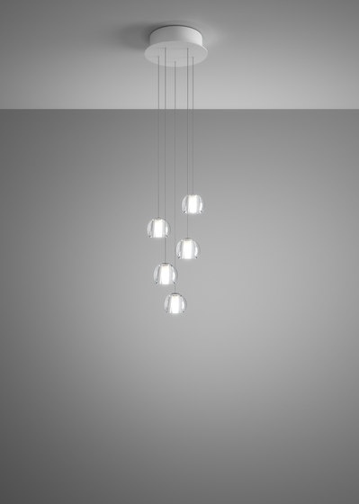 Beluga F32 A22 00 by Fabbian | Suspended lights