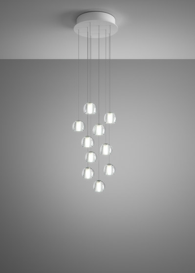 Beluga F32 A23 00 by Fabbian | Suspended lights