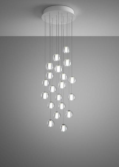 Beluga F32 A24 00 de Fabbian | Lámparas de suspensión