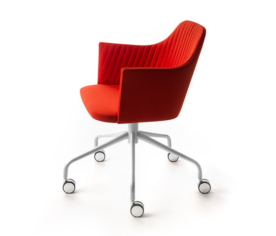 Break Con Ruote Chair by Bross | Office chairs