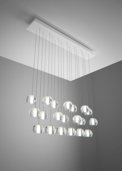Beluga F32 A29 00 by Fabbian | Suspended lights