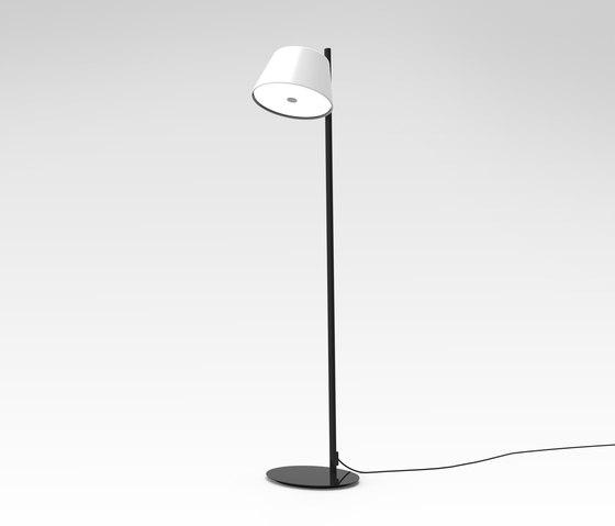 Tam Tam P white di Marset | Free-standing lights