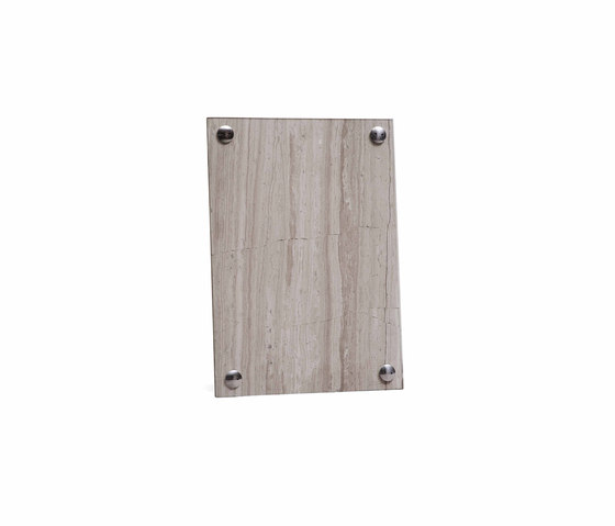 A Frame Picture Frame Light Fossil Marble | Medium by NEW WORKS | Picture frames