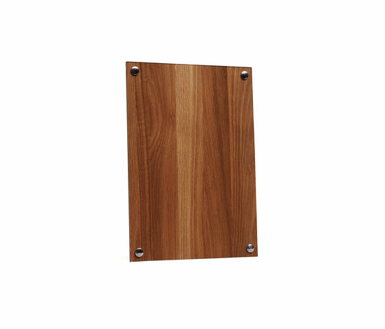 A Frame Picture Frame Natural Oak Wood | Large by NEW WORKS | Picture frames