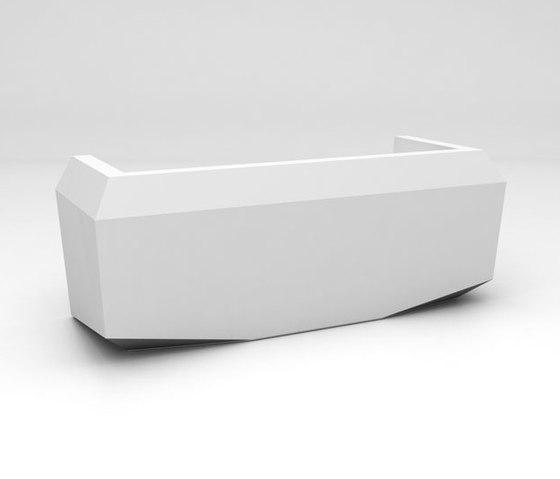 Fold Reception Desk Configuration 1 von Isomi | Theken