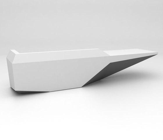 Fold Reception Desk Configuration  2 de Isomi | Comptoirs
