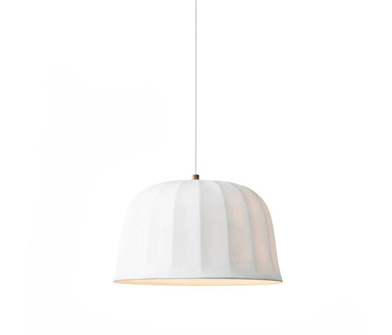 Juliet Pendant White Bone China by NEW WORKS   Suspended lights