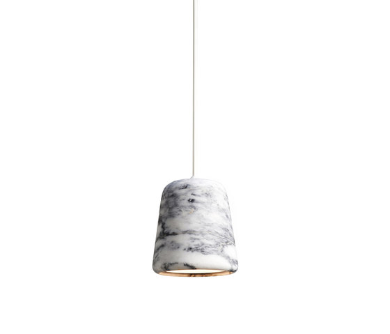 Material Pendant White Marble by NEW WORKS | Suspended lights