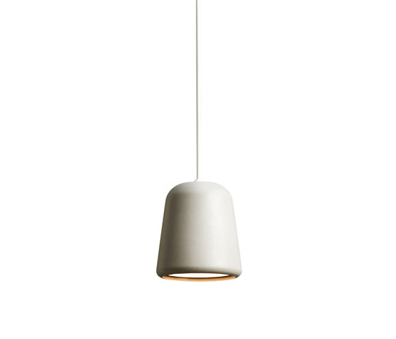 Material Pendant Light Grey Concrete di NEW WORKS | Lampade sospensione