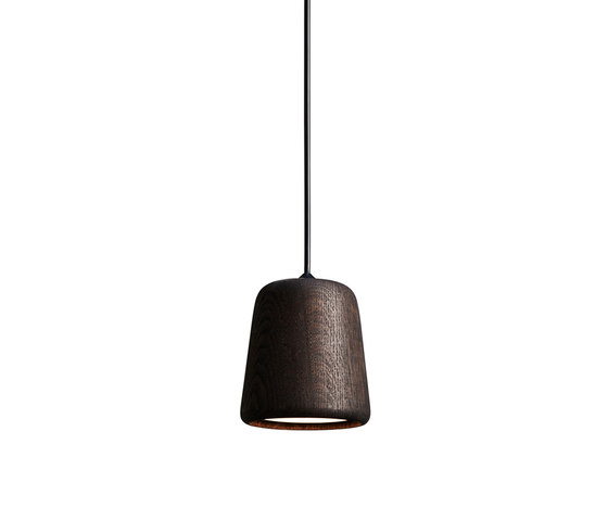 Material Pendant Smoked Oak by NEW WORKS | Suspended lights