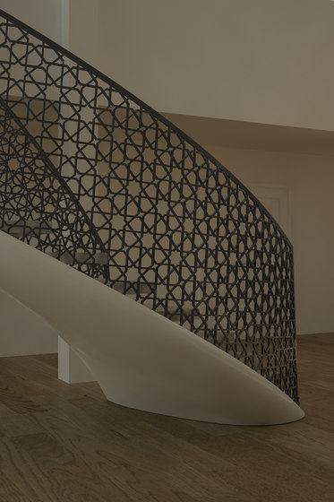 EeSoffit Curved by EeStairs | Staircase systems