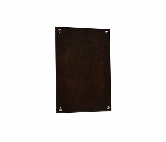 A Frame Picture Frame Smoked Oak Wood | Large by NEW WORKS | Picture frames