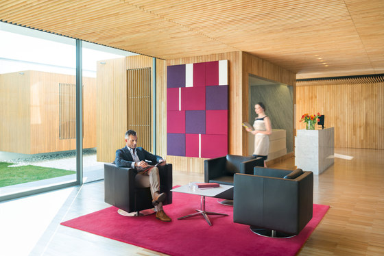 acoustic mood wall by Sedus Stoll | Sound absorbing wall systems