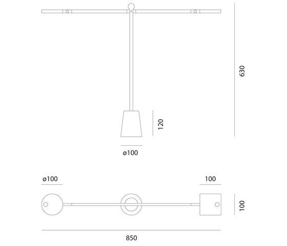 Equilibrist Lampe de Table de Artemide | Éclairage général