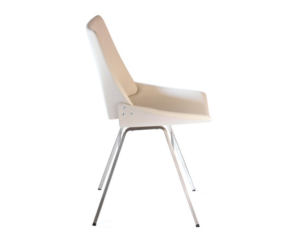 Shell Chair Textile Full by Rex Kralj | Chairs