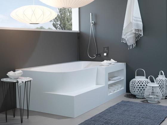 Badewanne aus Corian di talsee | Vasche