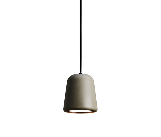 Material Pendant Dark Grey Concrete by NEW WORKS | Suspended lights