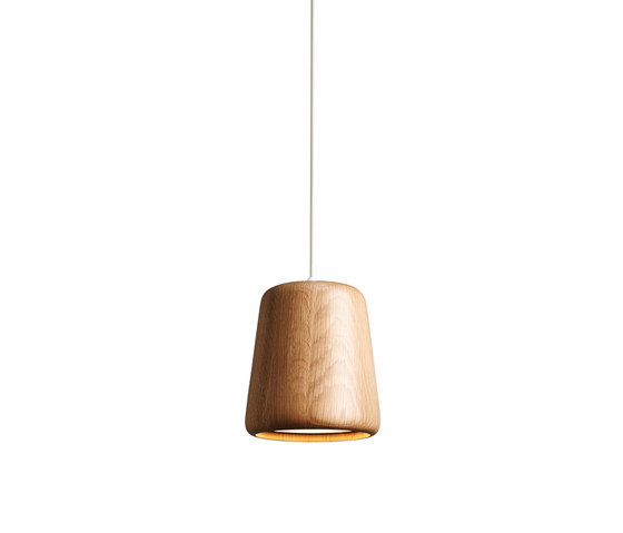 Material Pendant Natural Oak by NEW WORKS | Suspended lights