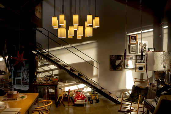 Cirio Chandelier von Santa & Cole | Suspended lights