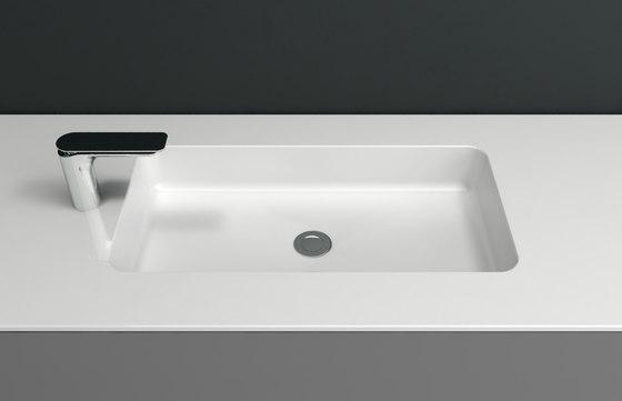 C. Corian® Washbasin Countertop de Inbani | Lavabos