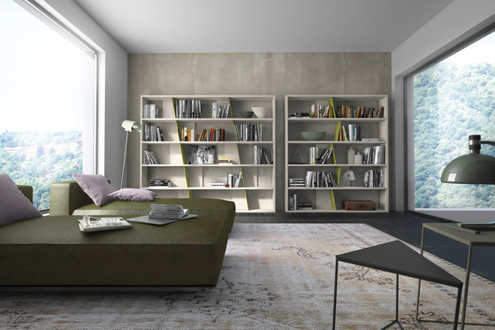 crossART bookcases by Presotto | Shelving