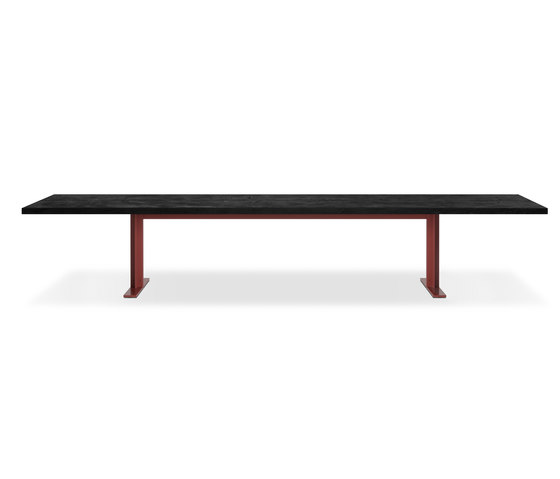 Memo Lava stone by LEMA | Dining tables