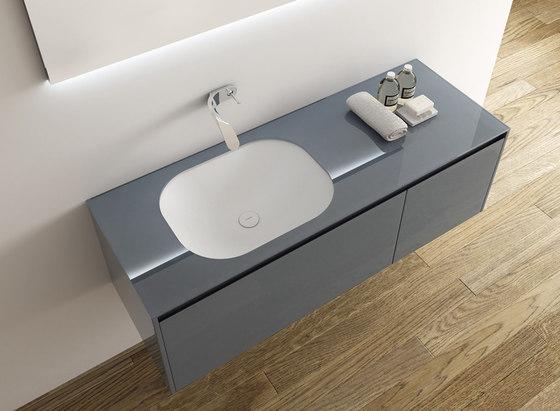 Ou Undermount Solidsurface® Washbasin von Inbani | Waschtische