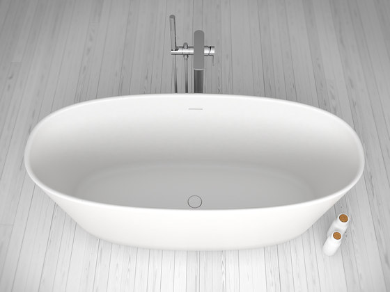Thinthing Freestanding Solidsurface® Bathtub di Inbani | Vasche ad isola