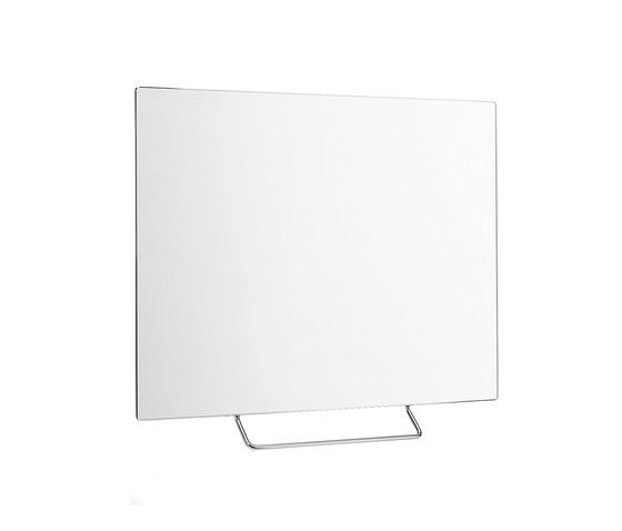 Confort Tilting adjustable mirror by Inda | Towel rails