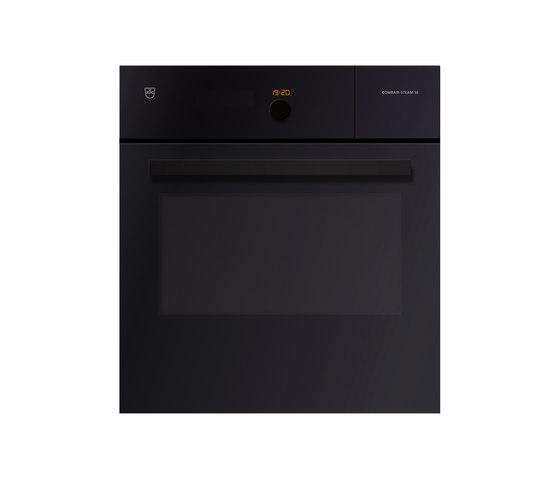 Steamer Combair-Steam | black glass by V-ZUG | Ovens