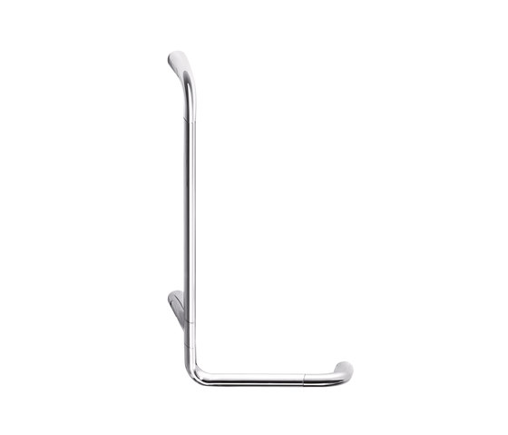 Confort L shaped safety support, left hand by Inda | Grab rails