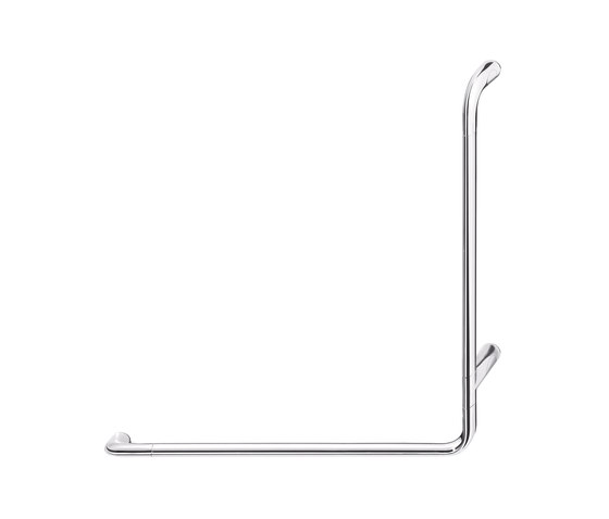 Confort L shaped safety support, right hand by Inda | Grab rails