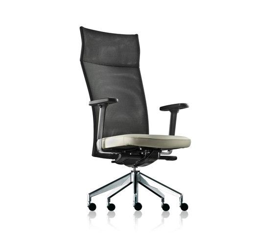 pharao net swivel chair high by fröscher | Management chairs