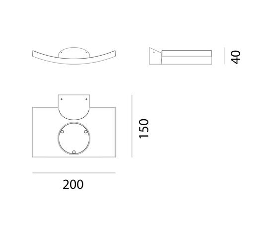 Micro Surf Wandleuchte von Artemide | Allgemeinbeleuchtung