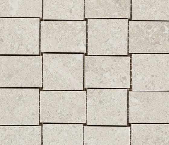 Mystone Gris Fleury mosaico bianco di Marazzi Group   Mosaici ceramica