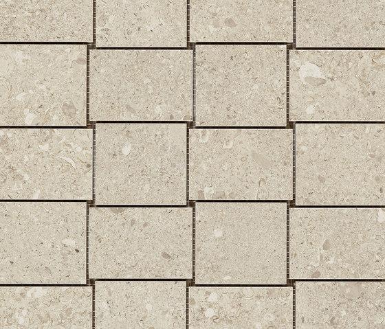 Mystone Gris Fleury mosaico beige by Marazzi Group   Ceramic mosaics
