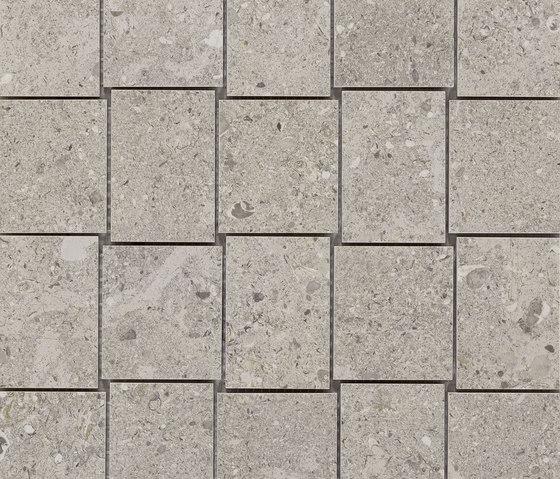 Mystone Gris Fleury mosaico taupe by Marazzi Group   Ceramic mosaics